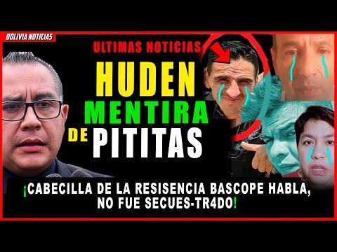 CAE MENTIR4 DE PITITAS. HABLA CAB3CILLA DE RESIST3CIA BASCOPE ¡NO FUE SECUESTR4DO!