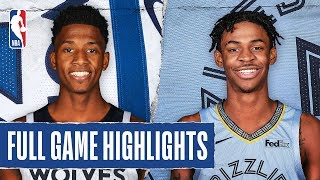TIMBERWOLVES at GRIZZLIES | FULL GAME HIGHLIGHTS | January 7, 2020