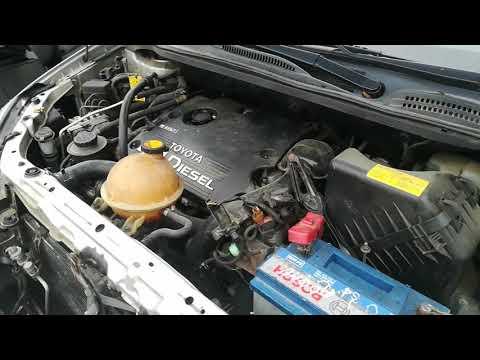 Toyota Avensis Verso 2005 m dalys