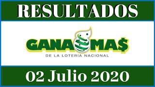 Resultados de la Lotería Nacional Tarde Gana Mas de hoy 02 de Julio del 2020