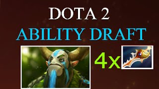 Dota 2 Best Ability Draft for Rapier-only Item Build ? 3x Rampage