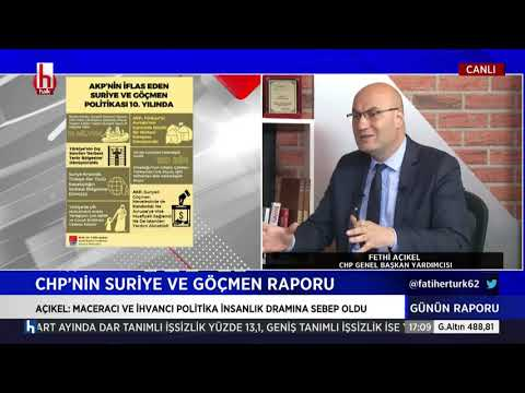FETHİ AÇIKEL HALK TV 10/05/2021