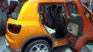 Volkswagen Taigun at 12th Auto Expo 2014 The Motor Show Greater Noida