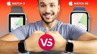 Apple Watch SE vs. Apple Watch 3: ¿Cuál comprar hoy