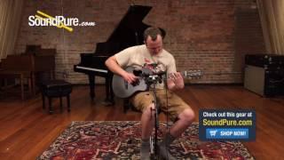McPherson Kevin Michael Carbon Fiber Travel Guitar Quick n' Dirty