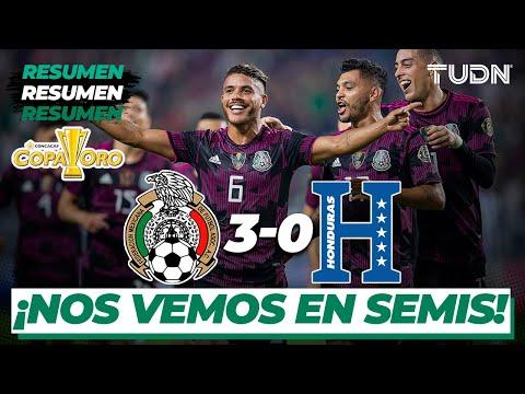 Resumen y goles | México 3-0 Honduras | Copa Oro 2021