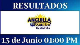 Lotería Anguilla 01 PM Resultados de hoy