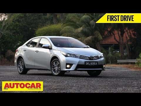2014 Toyota Corolla Altis | Exclusive First Drive Video Review