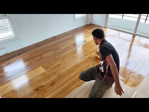 งาน-ขัดทาสีรองพื้นไม้สัก-ติดตั