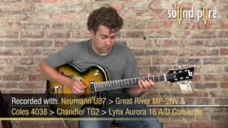Duesenberg carl carlton Guitar Demo at SoundPure Studios