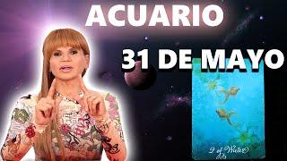 PREDICCIONES MHONI VIDENTE - Acuario horóscopo de hoy 31 de Mayo 2021 - No deberías perderte
