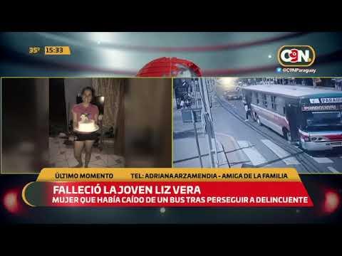 Último Momento | Falleció la joven Liz Vera