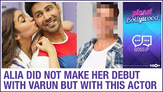 Alia Bhatt did NOT make her Bollywood debut with Varun Dhawan but with THIS actor - ZOOMDEKHO