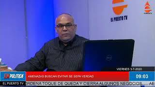 PERIODISTA WILLIAM RODRIGUEZ QUE RAMFIS TRUJILLO LO AMENAZA