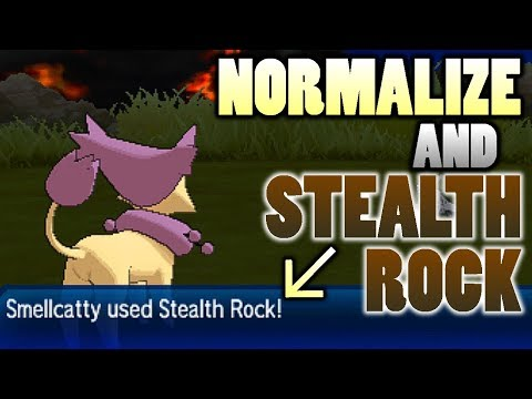 connectYoutube - Normal Type Stealth Rock? Testing Normalize and Stealth Rock in Pokemon Ultra Sun and Moon