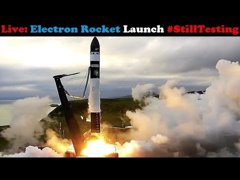 connectYoutube - (Scrubbed) Electron Rocket Launch (Still Testing) with 2x Flock-2 & 2x Lemur-2 CubeSats