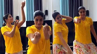 Dhee Champions Judge Poorna Super Dance at Home l Shamna Kasim l Actress Poorna House Inside View - IGTELUGU