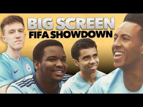 FIFA BIG SCREEN SHOWDOWN!   Man City v New York City v Melbourne City