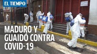 Acuerdo entre Maduro y Guaido? para buscar recursos contra el coronavirus