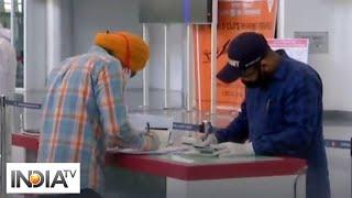 Vande Bharat Mission: Indians from New York arrive at Chandigarh airport via Delhi - INDIATV