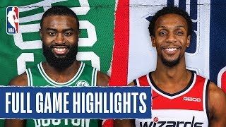 CELTICS at WIZARDS  | FULL GAME HIGHLIGHTS | January 6, 2020