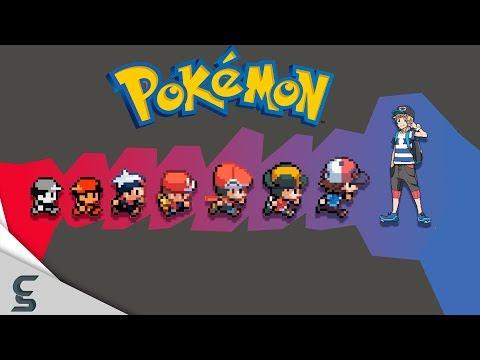 connectYoutube - The Evolution of Video Game Graphics: Nintendo - Pokemon (1996 - 2017)