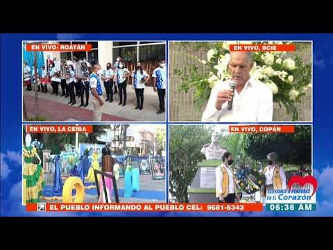 """Alcalde capitalino proclama """"Grito de Independencia"""" en el #BicentenarioHonduras"""
