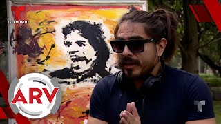 Youtuber mexicano pasó de hacer bromas pesadas a pintor   Al Rojo Vivo   Telemundo