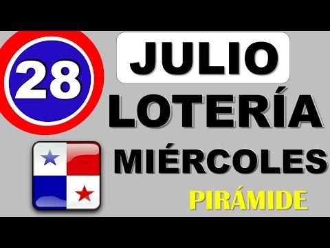 Piramide Suerte Decenas Para Miercoles 28 de Julio 2021 Loteria Nacional Panama Miercolito Comprar