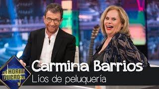Carmina Barrios revela su escatológica anécdota en una peluquería - El hormiguero 3.0