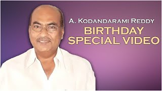 A. Kodandarami Reddy Birthday Special Video - Producer Prasanna Kumar | Latest Tollywood News | TFPC - TFPC