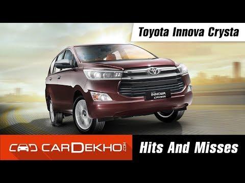 Toyota Innova Crysta Hits & Misses