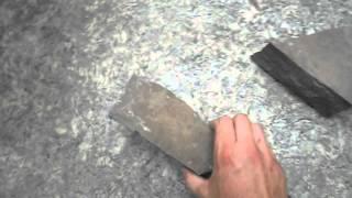 Нож-гильотина для резки тротуарной плитки,  стеновых блоков