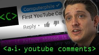 AI YouTube Comments - Computerphile