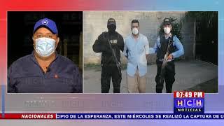 FNAMP captura a supuesto distribuidor de drogas en Comayagua