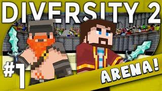 Minecraft - Diversity 2 - Xephos Cube Slayer (Arena Part 1)