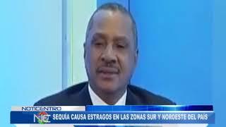 Olgo Fernández dice sequía causa estragos en las zonas Sur y Noroeste del país