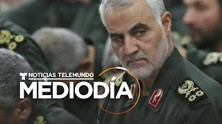 Trump ordenó el ataque contra un general iraní sin informar al Congreso   Noticias Telemundo