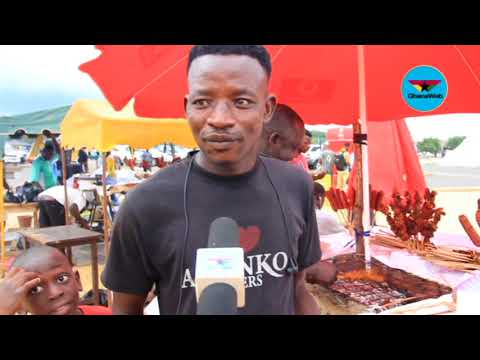 Video: Vendors in Cape Coast make huge profits from WAFU tournament, want more matches
