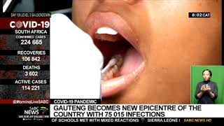 COVID-19 | Gauteng becomes the epicentre of the pandemic in South Africa