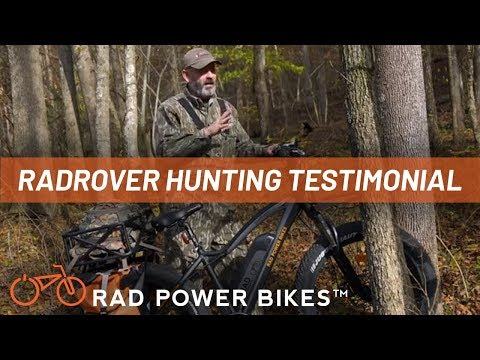 RadRover Electric Fat Bike Hunting Testimonial