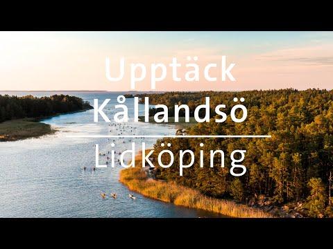 Vandra, paddla och cykla på Kållandsö utanför Lidköping