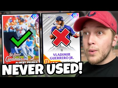 i used a FULL TEAM of cards I'VE NEVER USED before.. MLB The Show 21