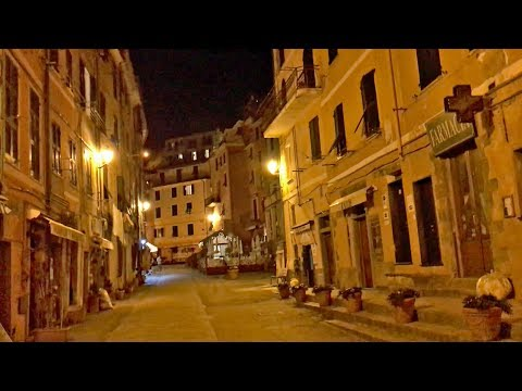 Vernazza After Dark — Magic photo