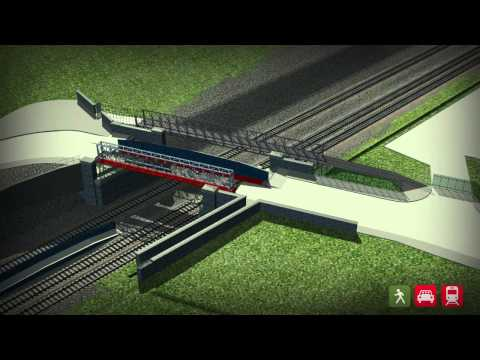 UK Rail Netowrk Animation - Monton Road