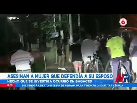 Asesinan a mujer que defendió a su esposo en La Fortuna Bagaces