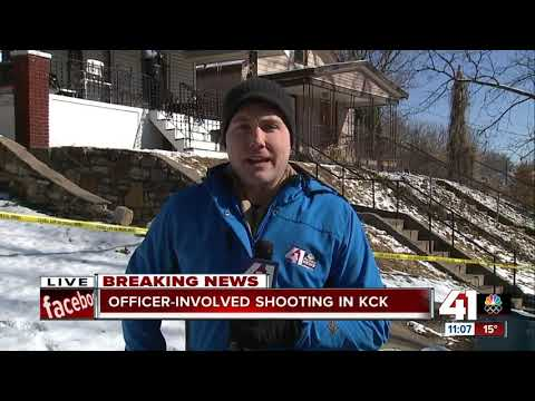 Suspect injured in KCK officer-involved shooting