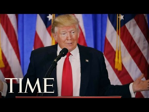Donald Trump Calls CNN 'Fake News'   TIME