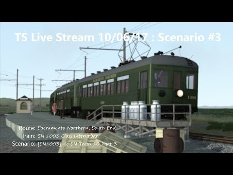 [SN1003] 4c SN Train 10 Part 3 (Livestream 10/06/17)