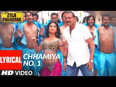 Lyrical: Chhamiya No. 1   Zila Ghaziabad   Sanjay Dutt, Vivek Oberoi   Sunidhi Chauhan, Shabab Sabri